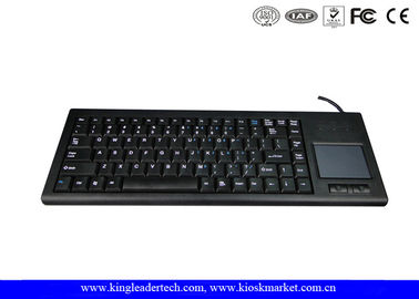 Rugged Plastic Industrial Keyboard With Function Keys And Integrated Touchpad