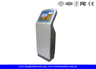Customized SAW Touch Screen Hotel Check In Check Out Kiosk Stand